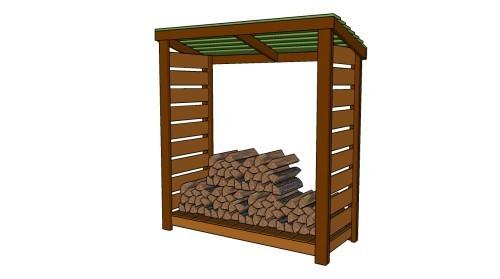 Postavte si prístrešok na drevo - Akostavat.com