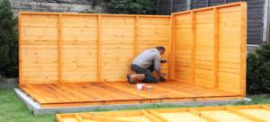 zahradny domcek zaklady