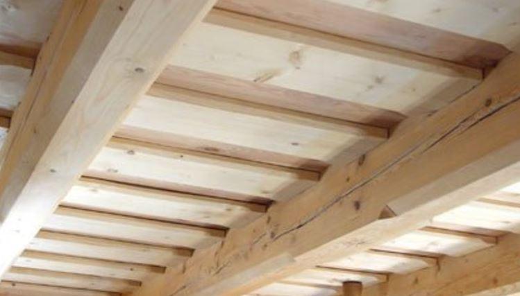 drevene stropy