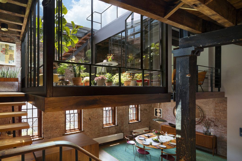 Tribeca Loft, Location: New York NY, Architect: Andrew Franz Architect