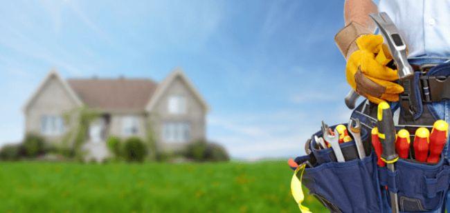 práce okolo domu: údržba