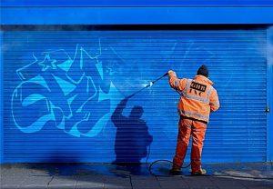 ako sa zbaviť graffiti