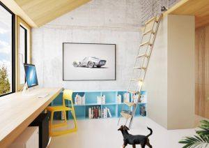 crhouse interiér