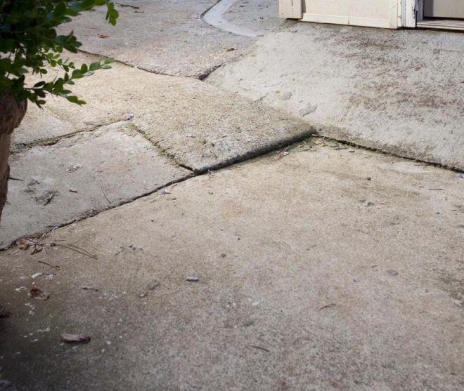 starý betónový povrch