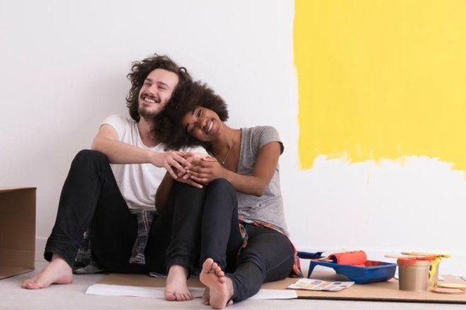 domáce projekty: maľovanie