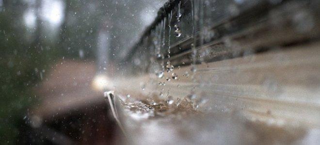 dážď môže byť problém