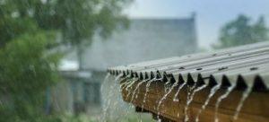 dážď a škody