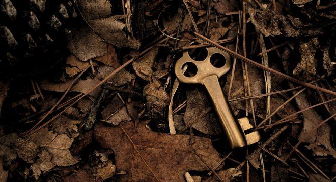 kľúč je podrohožkou